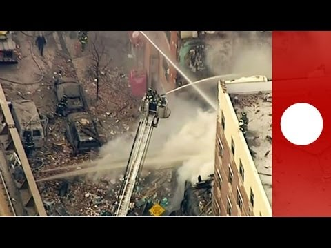 Breaking News: building collapse with fire in Harlem -- FDNY operating on scene