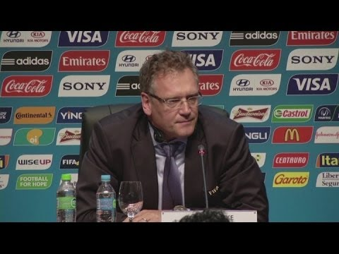 FIFA not afraid - Valcke [AMBIENT]