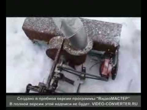 Чертежи снегоуборщика из бензопилы штиль 3
