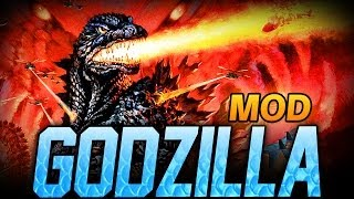 "Minecraft Mod | GODZILLA MOD - ""How to Kill Godzilla!"" - Mod Showcase"