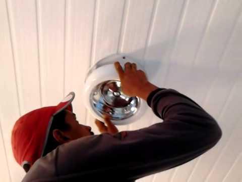 Como instalar luminárias em forró pvc