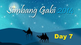 Simbang Gabi Day 7 – Dec 22
