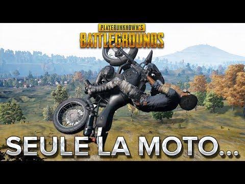 PUBG : SEULE LA MOTO