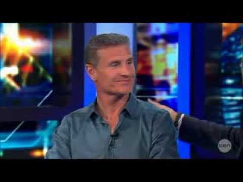 David Coulthard talks Michael Schumacher LIVE Australian Tv Interview 14 3 2014