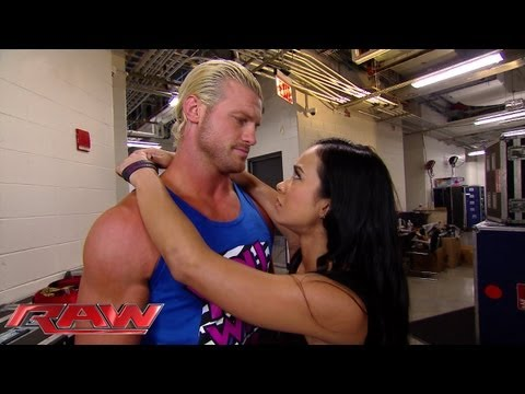 Dolph Ziggler breaks up with AJ Lee: Raw, July 15, 2013
