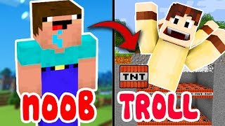 Khi NOOB Troll Oops Gumball Trong Minecraft
