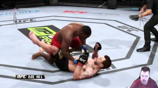 CAREER DAMAGE!!! - EA SPORTS UFC - The Ultimate Fighter #32 (Career Mode)