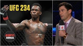 Should Israel Adesanya jump the line for a title shot?   UFC 234   ESPN MMA