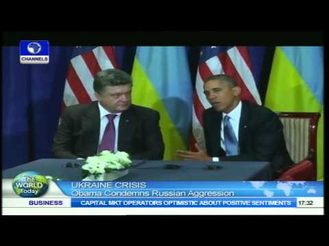 World Today: Obama Condemns Russian Aggression in Ukraine
