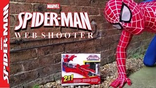 New Spiderman Web Shooter Real Spiderman Vs Fly Fun