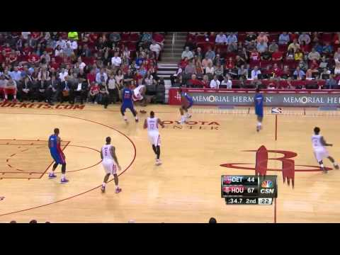 Detroit Pistons vs Houston Rockets | March 1, 2014 | NBA 2013-14 Season