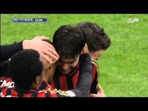 Milan 3-0 Atalanta 2013-2014 | Kaká for 1-0