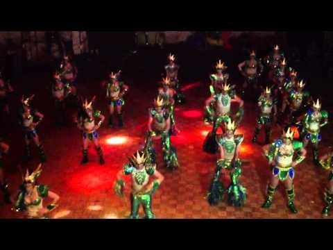 JUST DANCE - PREMIACIÓN DE COMPARSAS 2014 CARNAVAL DE ENSENADA MÚSICA COLOR Y ALEGRÍA