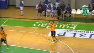 Futsal | jogo 1 - 1/2 Final - Fundão 1-6 SPORTING 2012/2013 Resumo