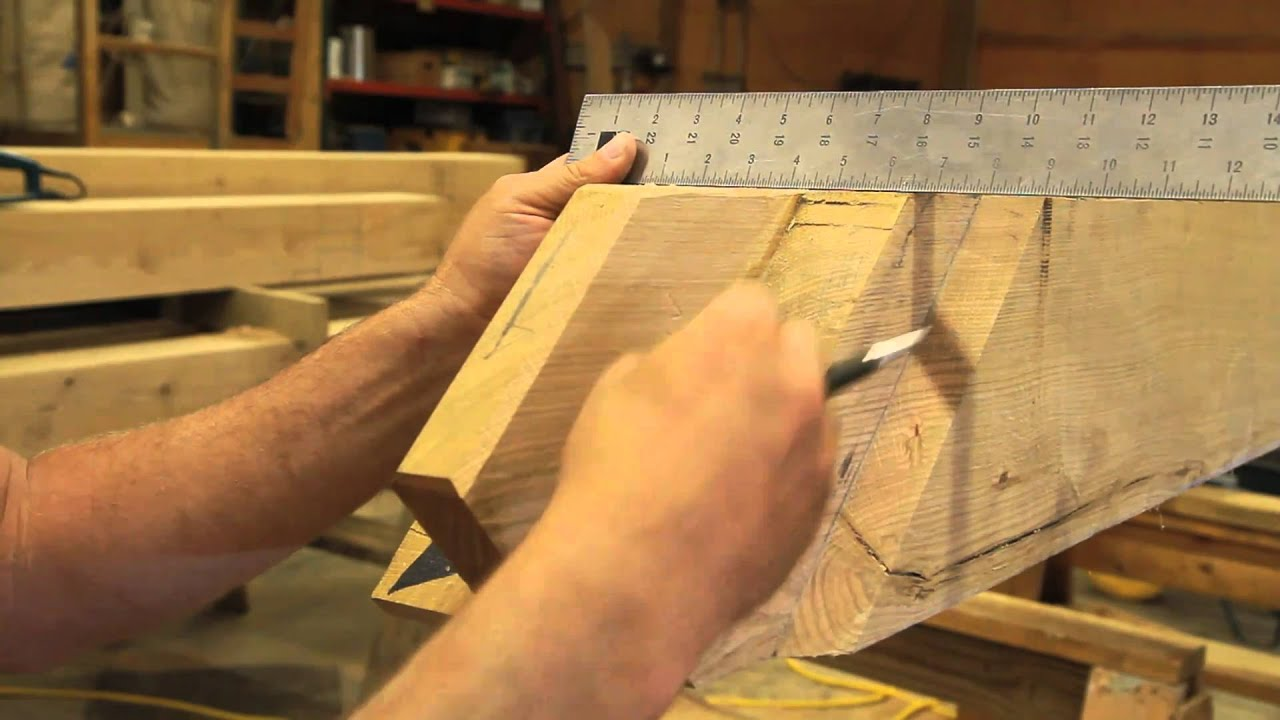 How To Cut And Hand Tool Finish A Tenon For A Timber Frame