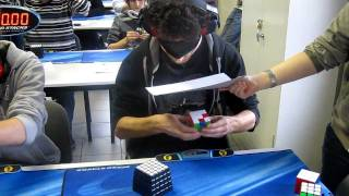 Rubiks Cube blindfolded World Record 28.80s ..