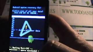 Como Desbloquear Un Móvil Android (Samsung Galaxy Ace
