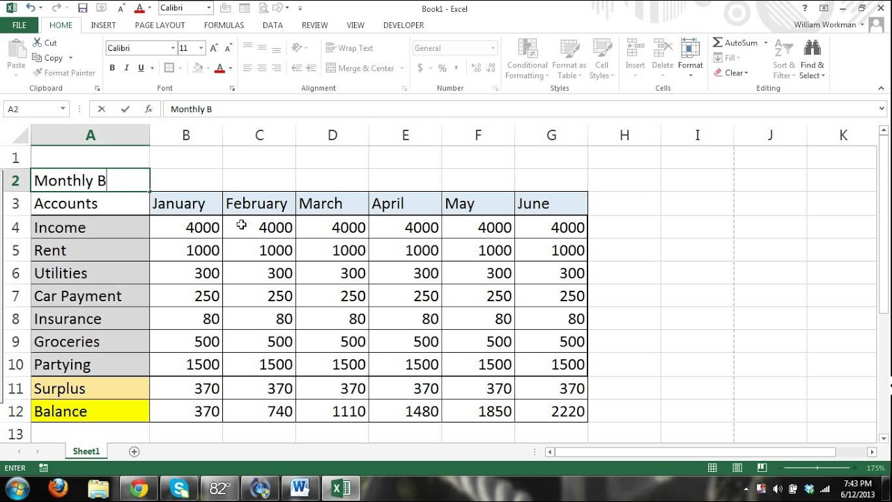 Tutorial FOR BEGINNERS PART 4 - How to use Excel - formulas, charts ...
