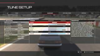 Forza Motorsport 5: Tuning Bug!