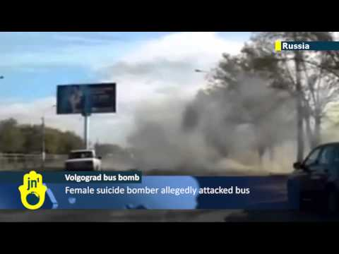 Volgograd Suicide Bomber Bus Attack: Dashcam catches moment of deadly bus explosion
