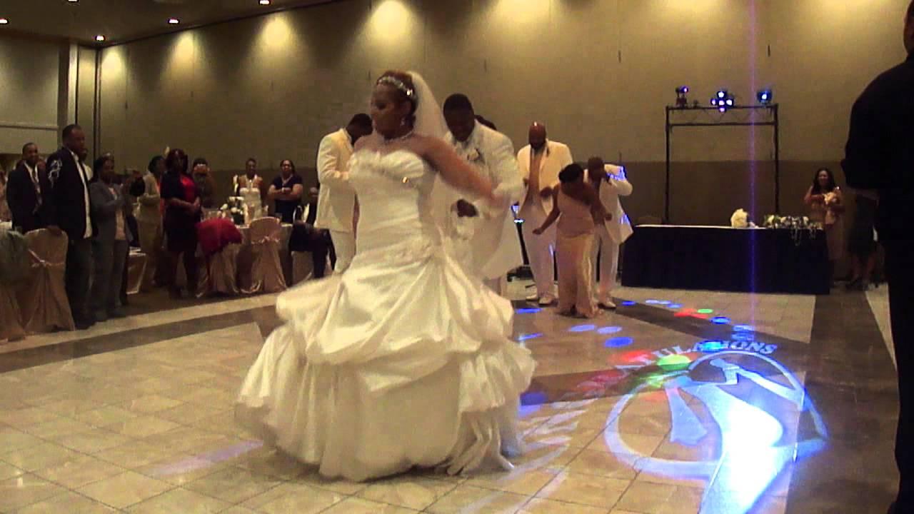 BEST Surprise Wedding Reception Dance Shayla Amp Joe 2012
