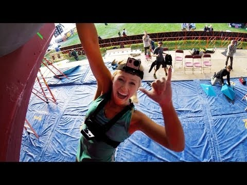 GoPro: Bouldering with Sierra Blair-Coyle - GoPro Mountain Games 2014