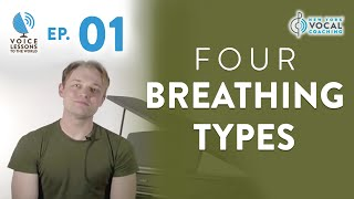 "Ep. 1 ""4 Breathing Types""- Voice Lessons To The World"