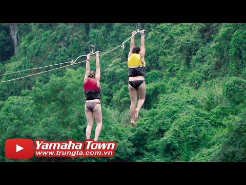 Du lịch Sông Chày, Hang Tối, Quảng Bình - Trải nghiệm ZIPLINE! ♥