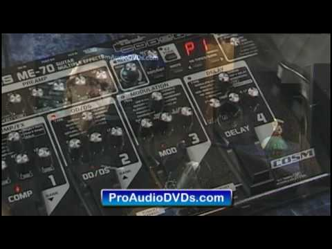 Roland Boss ME-70 unbox tutorial DVD training help demo settings