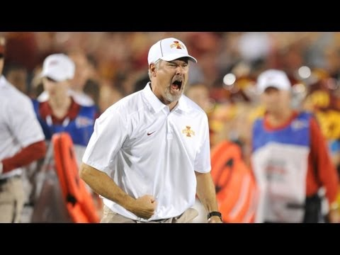 Paul Rhoads Post-Game Media Conference vs. Texas