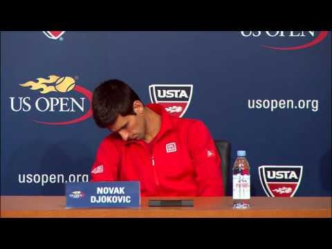 2013 US Open: Novak Djokovic Press Conference