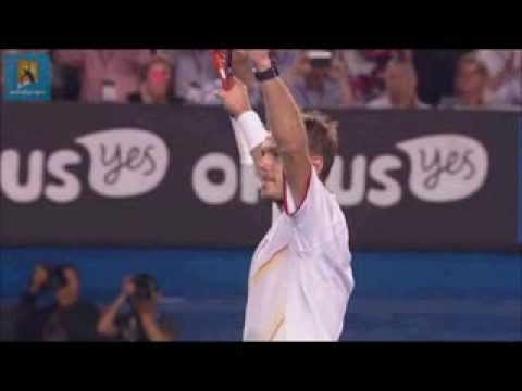 WAWRINKA WINS AUSTRALIAN OPEN 2014 - MATCH POINT