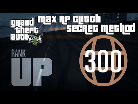 GTA 5 Online- Instant Max Reputation Glitch (Level 300 Super Fast) - Fastest RP Method!