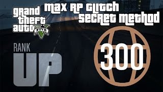 GTA 5 Online- Instant Max Reputation Glitch (Level 300