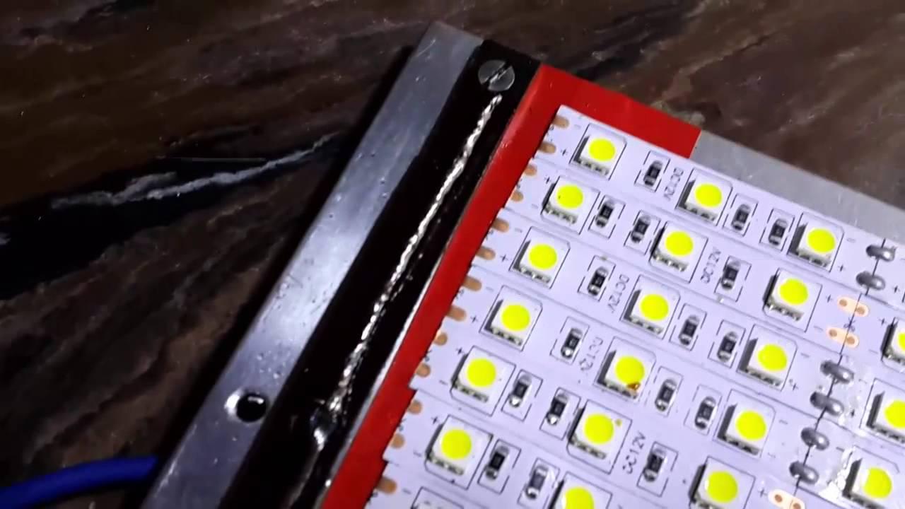 Уличный фонарь из светодиодной ленты своими руками 53
