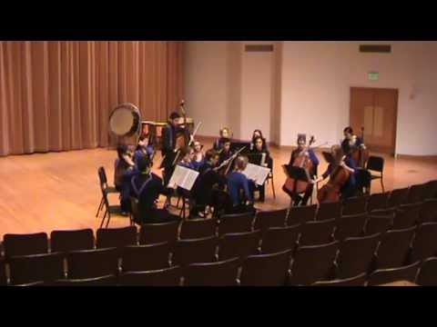 Sehome High School Chamber Orchestra - Evening Prayer from Hansel and Gretel
