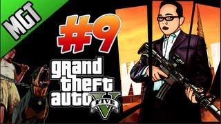 Grand theft Auto 5 Parte #9 jugando Con El Perro