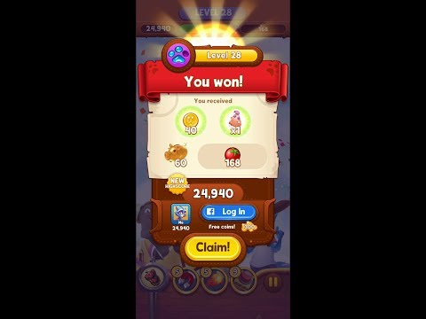 Bubble Island 2 Level 28 Challenging HD 1080p
