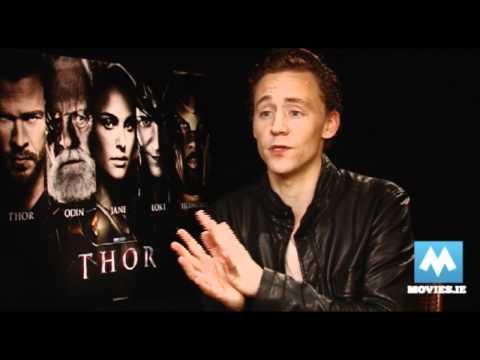 Tom Hiddleston - Star of THOR, THE AVENGERS & WAR HORSE