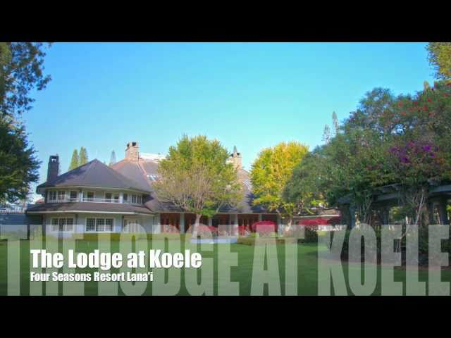A Tour of the Four Seasons Resort Lanai the Lodge at Koele