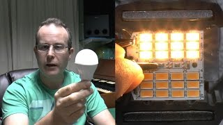 Philips LED Lamp 9.5W Teardown