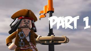 Lego Pirates Of The Caribbean: Walkthrough Part 1 Let's