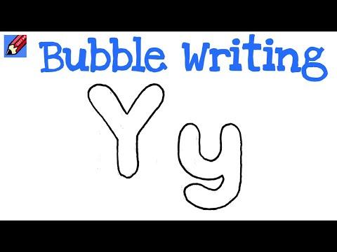 Bubble Letters Y Print Bubble Alphabets Y  BubbleLettersOrg