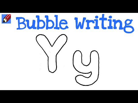 How To Make Block Bubble Letters