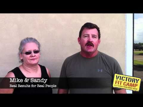 Mike and Sandy - Victory Fit Camp Clients