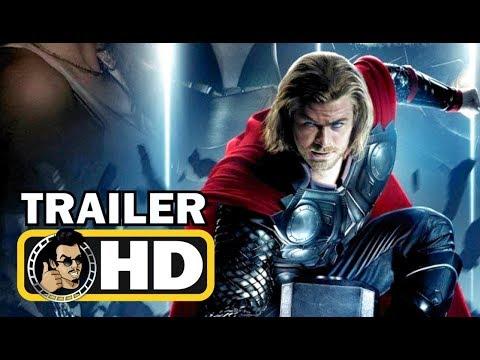 THOR: THE AVENGER Official Trailer #2 (HD) Marvel Movie [2011]