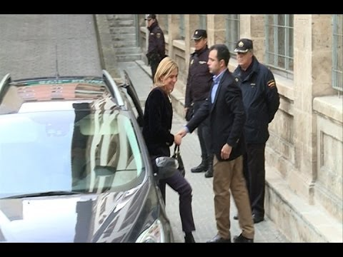 Spain's Princess Cristina arrives at the courthouse