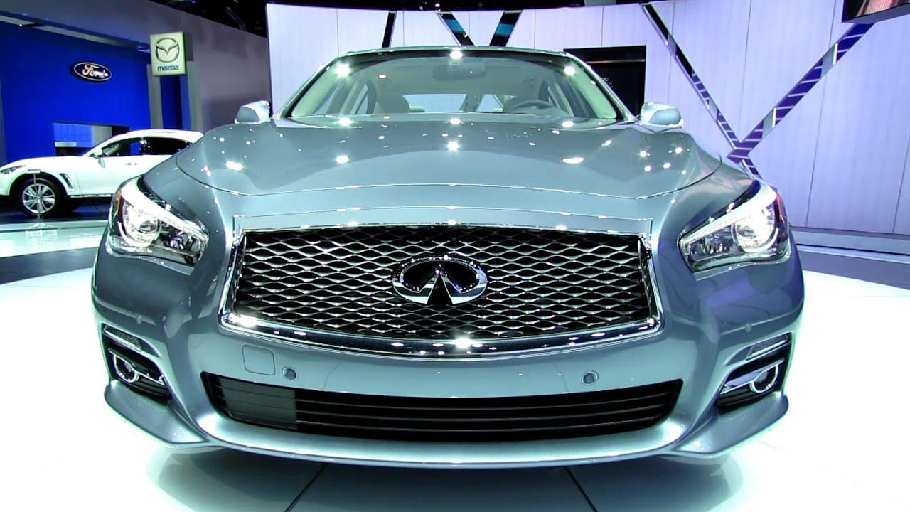 2014 infiniti q50 hybrid exterior and interior walkaround 2013 html autos weblog