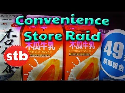 Taiwan Convenience Store Raid (Snacks, Drinks, & Food in Taipei)