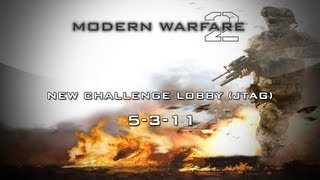 Xbox 360 New Unlock All Challenge Lobby MW2 Modded